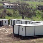На освобожденных землях ведется процесс установки общежитий модульного типа - ВИДЕО