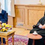 Председатель УМК пригласил Патриарха Варфоломея посетить мечети и церкви Карабаха