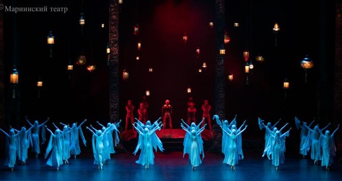 Балет «Тысяча и одна ночь» показали на крупнейшем фестивале
