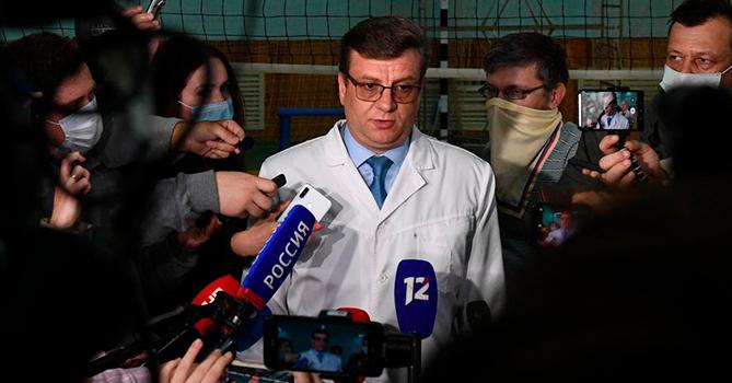 Пропал экс-главврач больницы, где лечили Навального