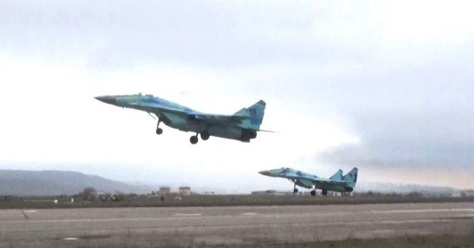 В ходе учений осуществлена передислокация боевой авиации — ВИДЕО