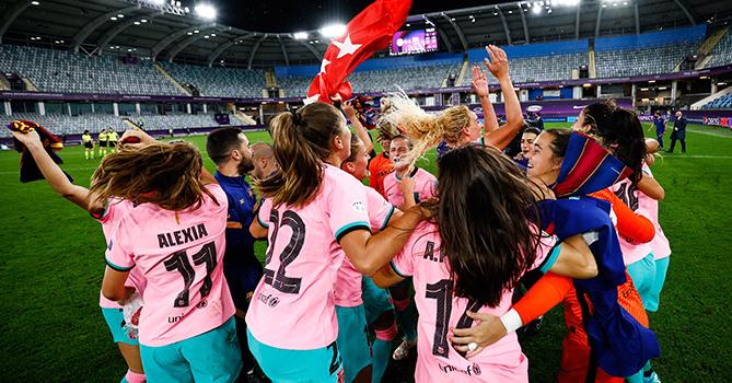 «Барселона» впервые в истории выиграла женскую Лигу Чемпионов