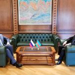 Главы МИД Азербайджана и России обсудили напряженность на азербайджано-армянской границе