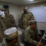 Министр обороны посетил подразделение войск ПВО на освобожденных территориях - ФОТО
