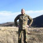 Ильхам Алиев заложил фундамент новой мечети в Шуше