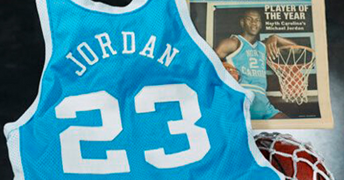 Майку Майкла Джордана продали на аукционе за $1,38 млн