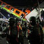 При обрушении метромоста в Мехико погибло 24 чел.