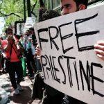 В Нью-Йорке проходит митинг в поддержку Палестины