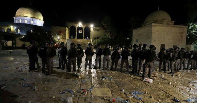 «Не думайте, что толпа из нескольких тысяч человек может обрушить израильское государство, они лишь оцарапают его фасад»