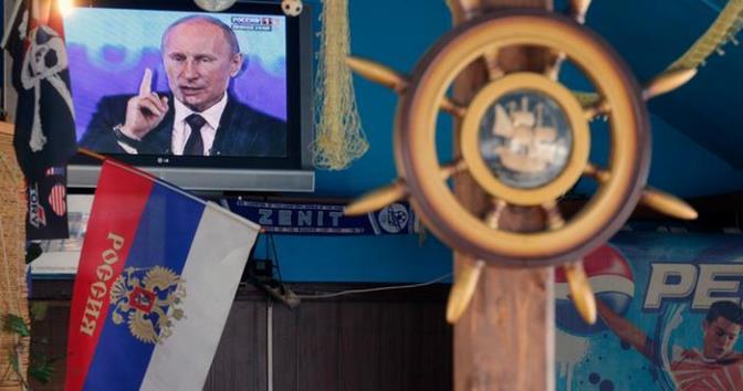 «Российские средства массовой дезинформации представляют собой важный инструмент военных действий»