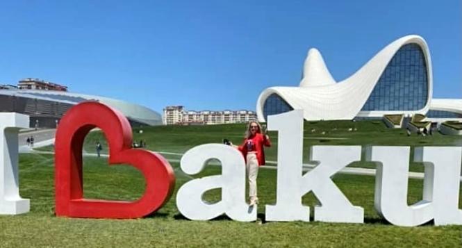 Мария Суворовская: Баку – это мой гисмят – ФОТО