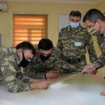 В ходе учений в ВС Азербайджана отрабатываются задачи на картах - ВИДЕО