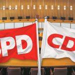Рейтинг ХДС/ХСС в Германии упал до исторического минимума