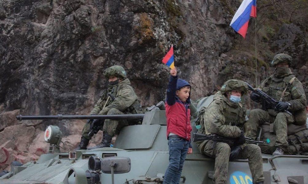 Rossiyskie mirotvorci v Karabaxe