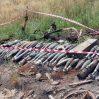 В Ходжавенде обнаружены оружие и боеприпасы