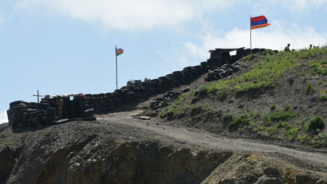 qranitsa Azerbaijana i Armenii