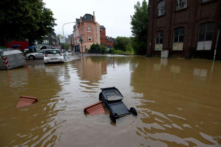 Число жертв наводнений в Германии достигло 58 - Зеркало.az
