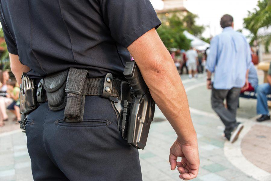 oxranu vuzov doljni osushetvlyat politseskiye